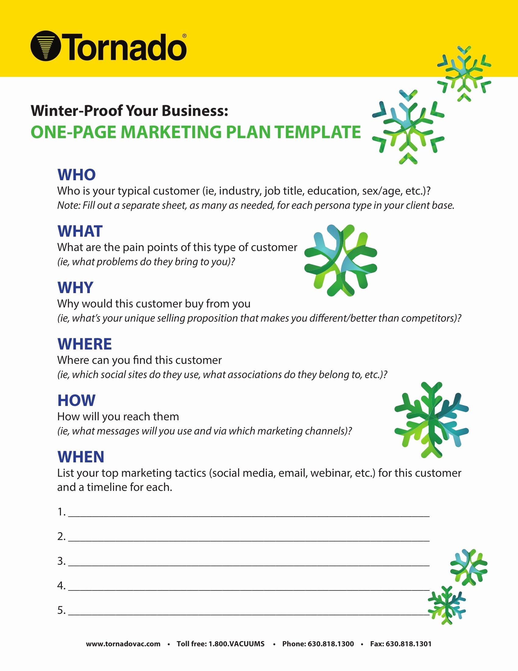 1 Page Marketing Plan Template Awesome 7 E Page Marketing Plan Templates Pdf