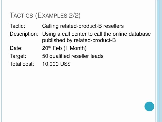 1 Page Marketing Plan Template Best Of A Quick One Page Marketing Plan Template