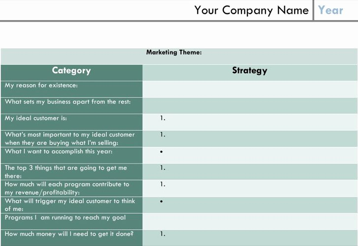 1 Page Marketing Plan Template Fresh Download E Page Marketing Template for Free Tidytemplates