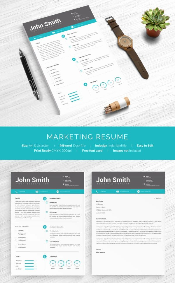 1 Page Marketing Plan Template Inspirational 16 E Page Resume Templates
