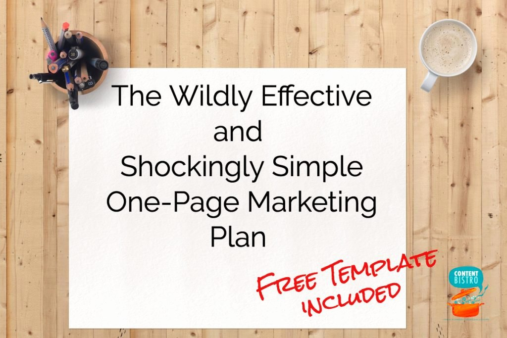 1 Page Marketing Plan Template Inspirational the E Page Marketing Plan We Use for A Profitable and