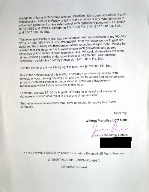 10 Day Payoff Letter Sample Inspirational Julian S Demand Letter Response to Fraudulent Car