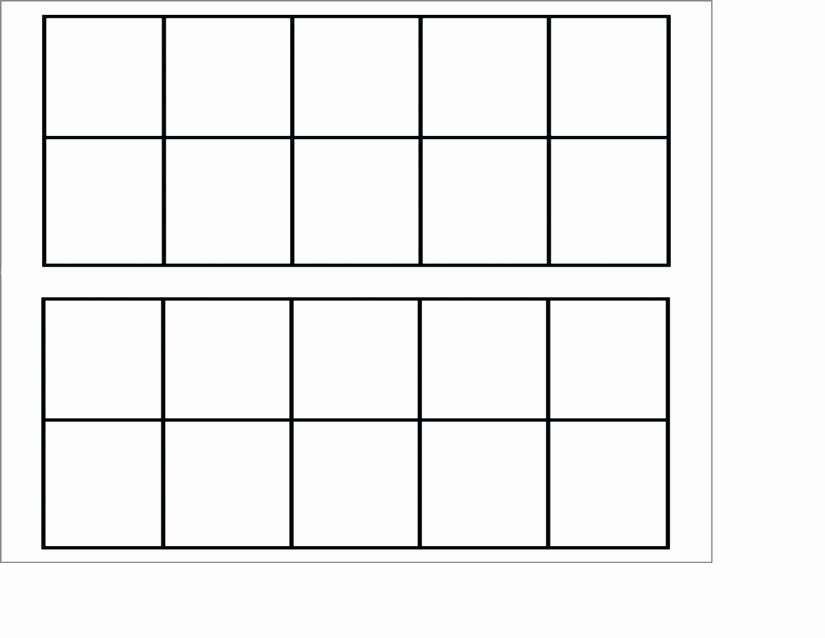 10 Frame Template Beautiful Free Worksheets Ten Frame Small Cards with Dots
