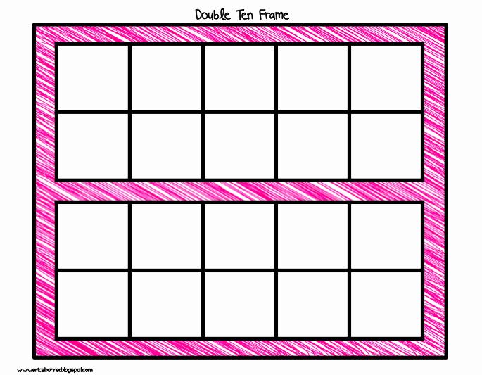 10 Frame Template Lovely Blank Ten Frame Free Template Clipart Best