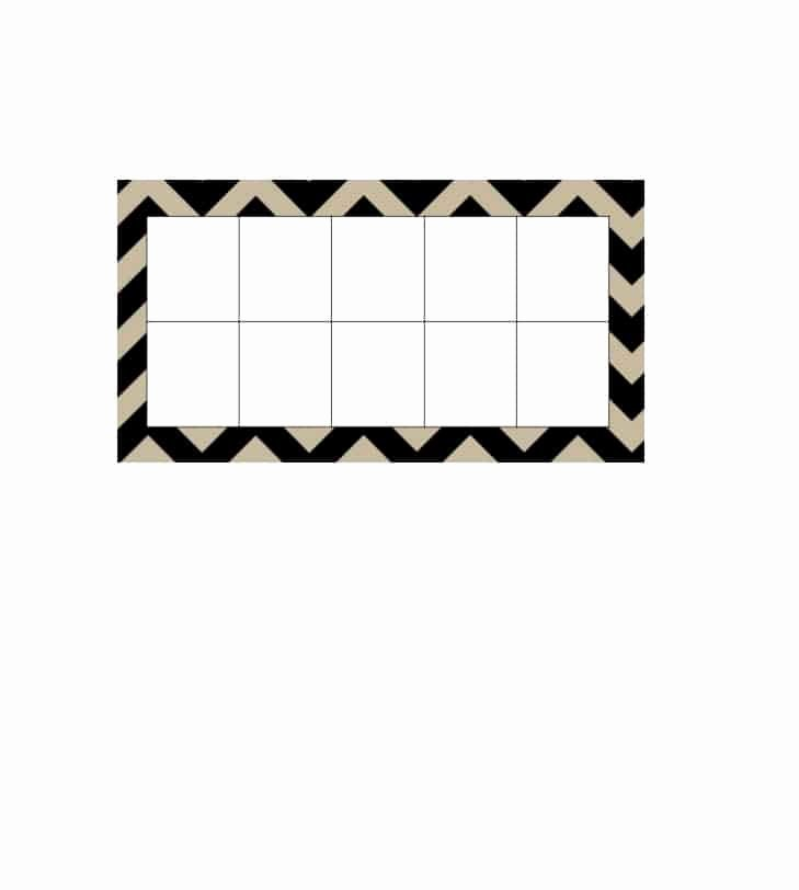 10 Frame Template Printable Lovely 36 Printable Ten Frame Templates Free Template Lab