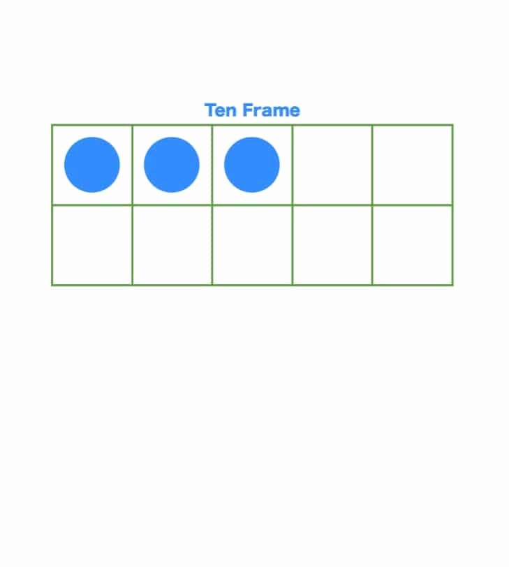 10 Frame Template Printable New 36 Printable Ten Frame Templates Free Template Lab