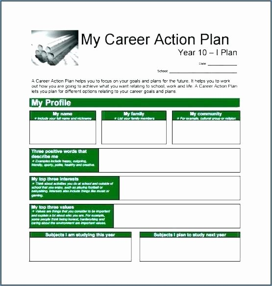 10 Year Life Plan Template Beautiful Career Plan Template Year Plan Template Career Development