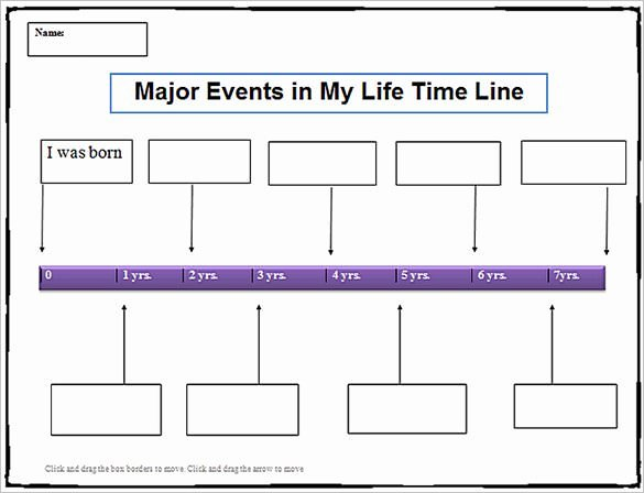 10 Year Life Plan Template New 8 Personal Timeline Templates Doc Ppt Psd
