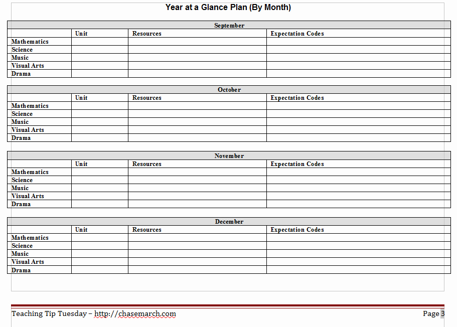 10 Year Plan Template Elegant October 2013