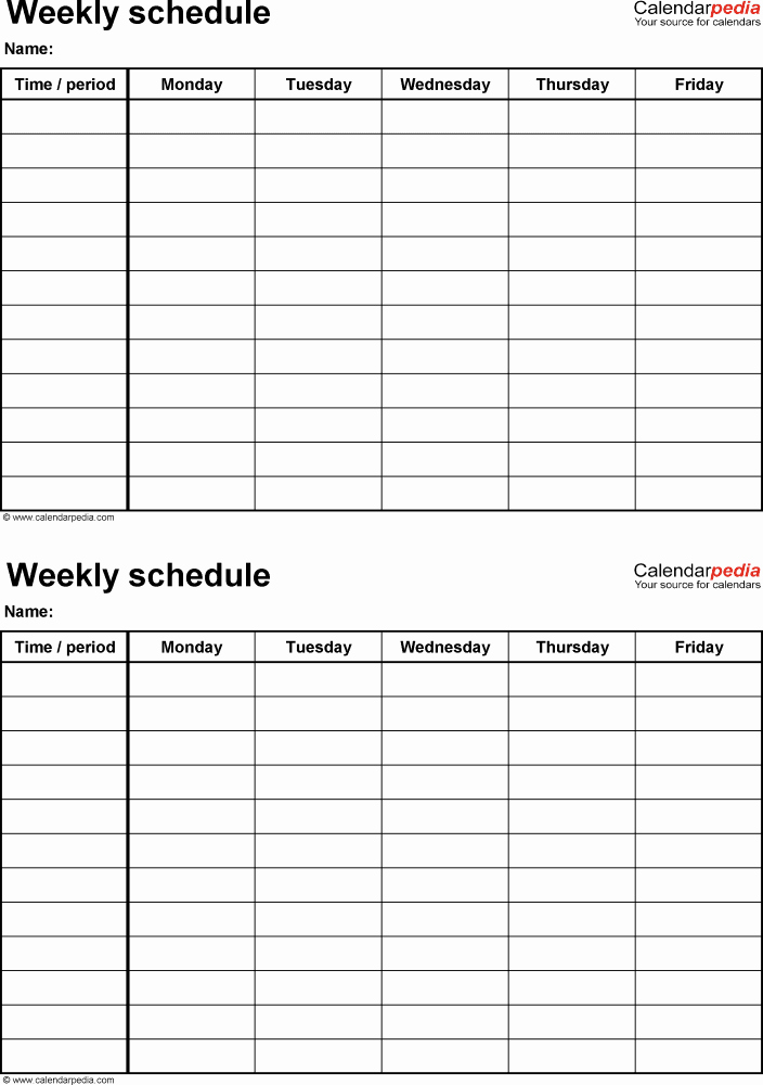 10 Year Plan Template Lovely Printable 4 Week Calendar Printable 360 Degree
