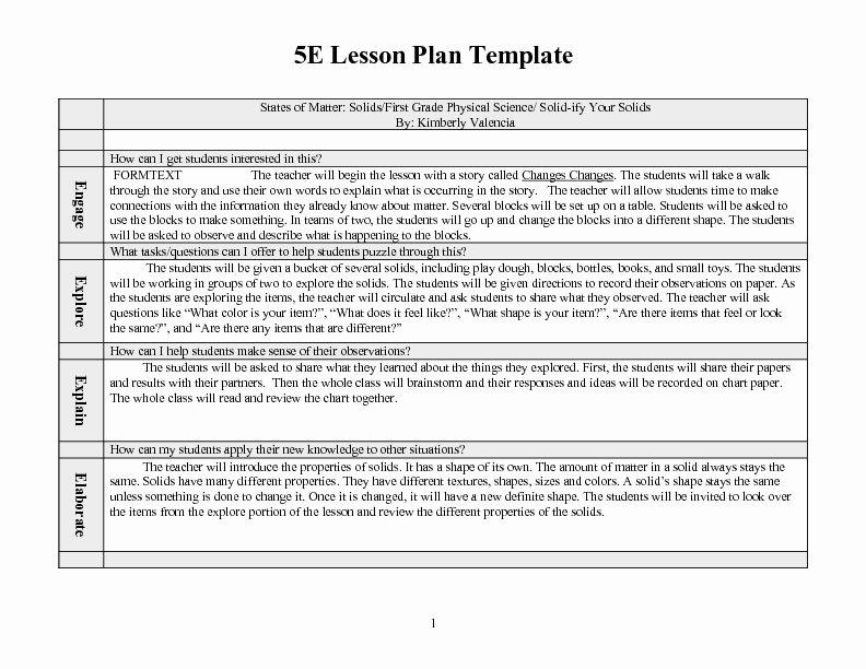 1st Grade Lesson Plan Template Fresh Math Lesson Plans First Graders Lesson Plans for Scott