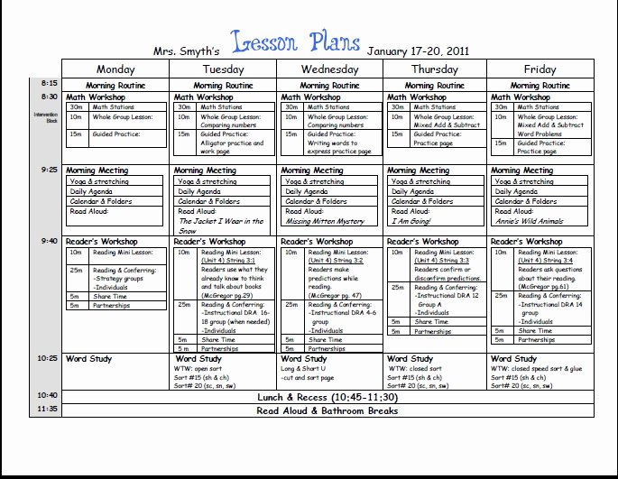 1st Grade Lesson Plan Template Fresh New Adventures In First Grade A Peek In My Week