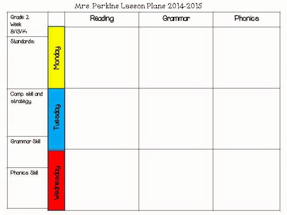 2nd Grade Lesson Plan Template Unique Free Editable Lesson Plan Template