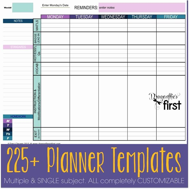 3 Year Plan Template New 108 Best Homeschool Lesson Plans & organization Images On