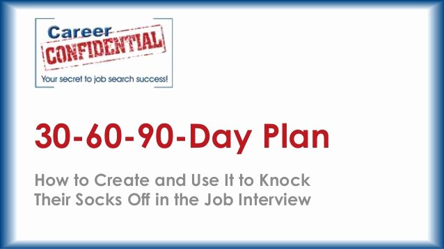 30 Day Plan Template Lovely 30 60 90 Day Plan format