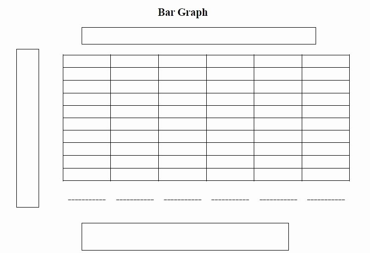 4 Section Word Template Beautiful Free Bar Graph Templates