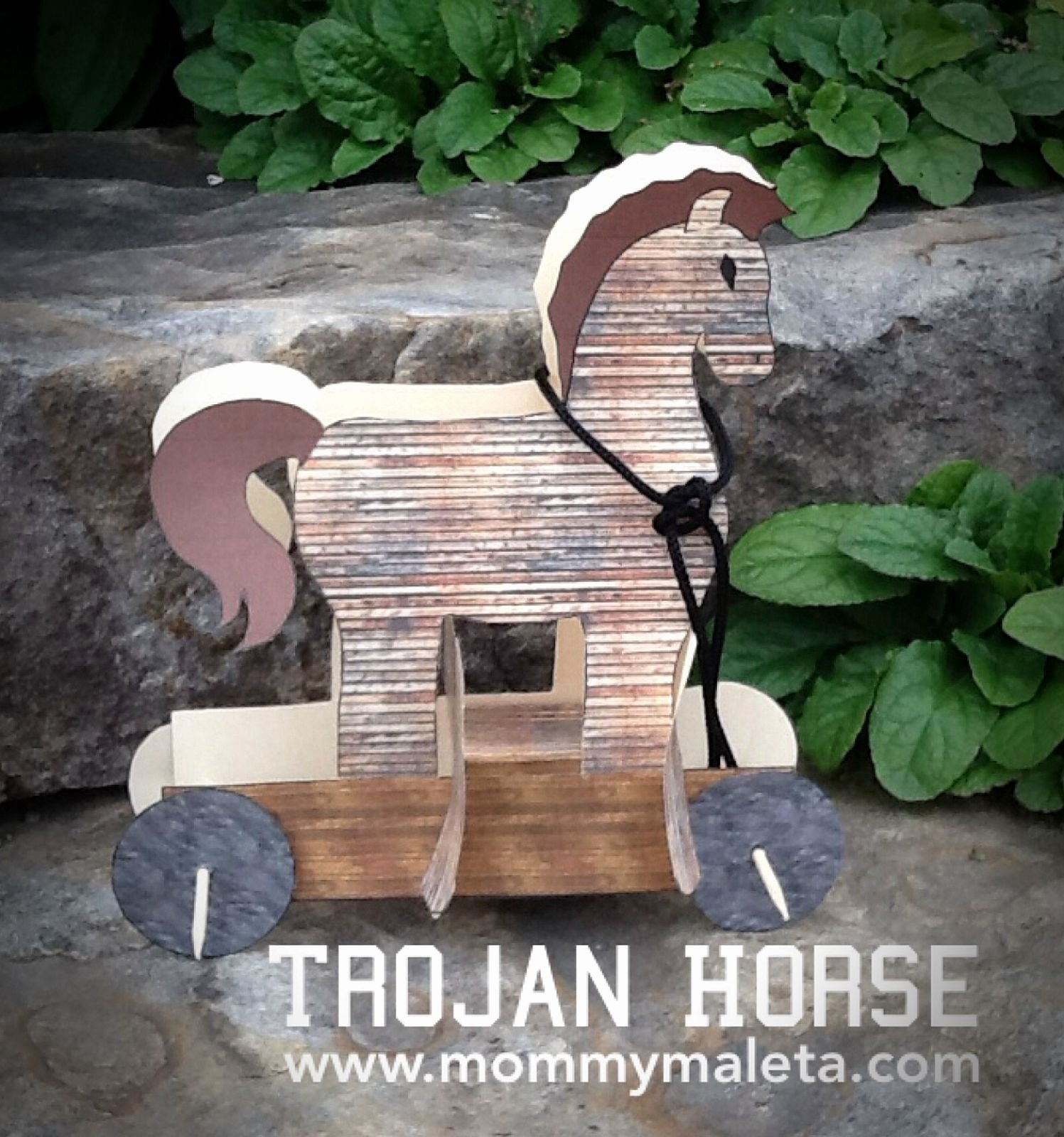 greece craft week 3 trojan horse
