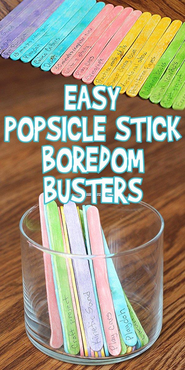 5 E's Lesson Plan Template Unique Popsicle Stick Boredom Busters