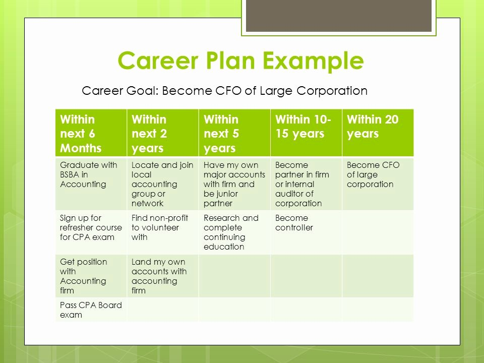 5 Year Career Plan Template Lovely Synergy A Presentation Brought to You by Shannon Brown