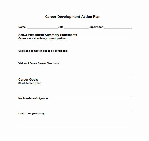 5 Year Career Plan Template Luxury 12 Career Action Plan Templates Doc Pdf Excel