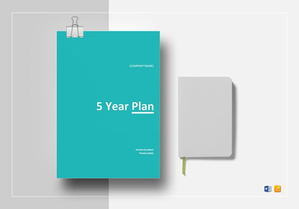 5 Year Plan Template Best Of 13 5 Year Plan Templates Free Sample Example format