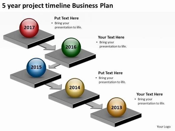 5 Year Plan Template Lovely 5 Year Project Timeline Business Plan Powerpoint Templates