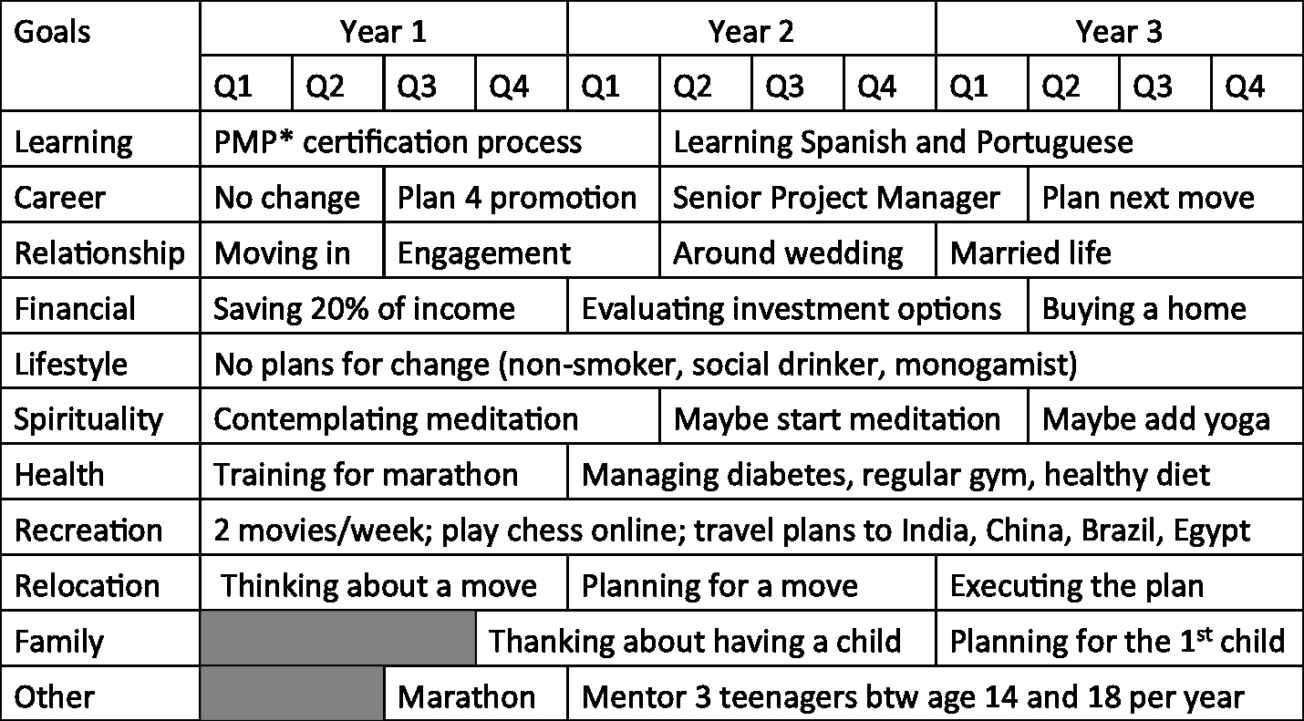 5 Year Plan Template New Holistic Life Plans – Thinkocrats