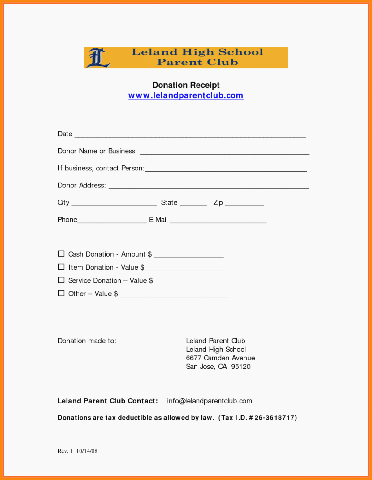 501c3 Donation Receipt Template Best Of Sample Church Donation Receipt Letter for Tax Purposes