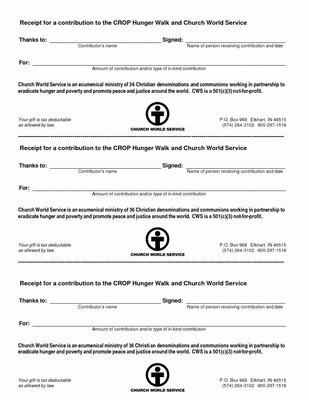 501c3 Donation Receipt Template Inspirational 501c3 Donation Receipt
