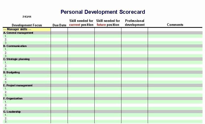 504 Plan Template Pdf Fresh 11 Personal Development Plan Templates