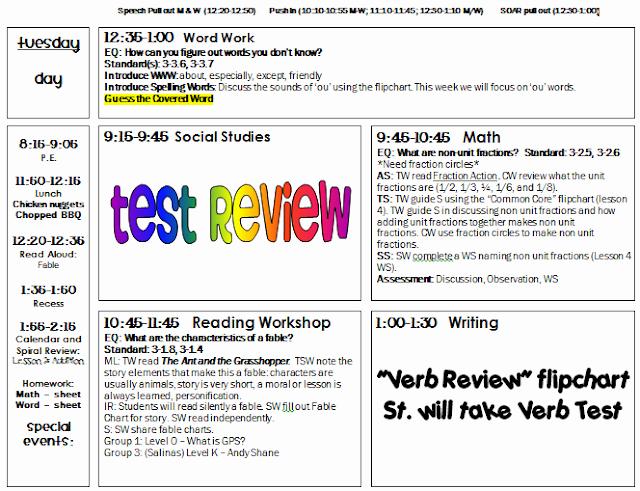5th Grade Lesson Plan Template Elegant Cute Lesson Plan Template
