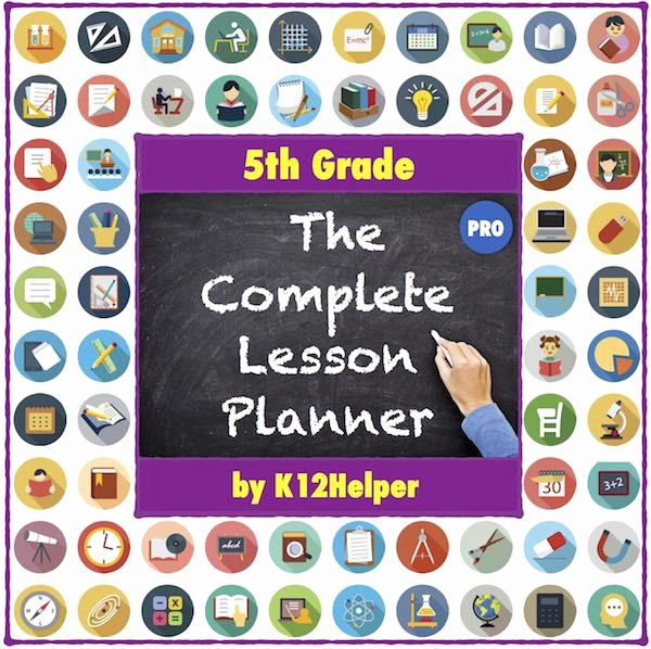 5th Grade Lesson Plan Template Luxury 1000 Images About Teaching Objectives and Lessons On
