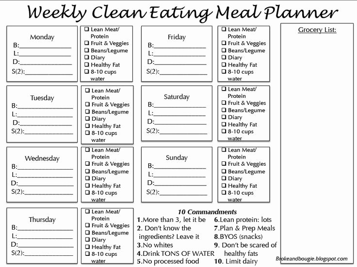 7 Day Meal Plan Template Lovely Best 25 Menu Planning Printable Ideas On Pinterest