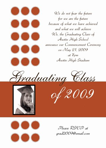 8th Grade Graduation Program Template Inspirational Graduation Announcement Quotes Quotesgram