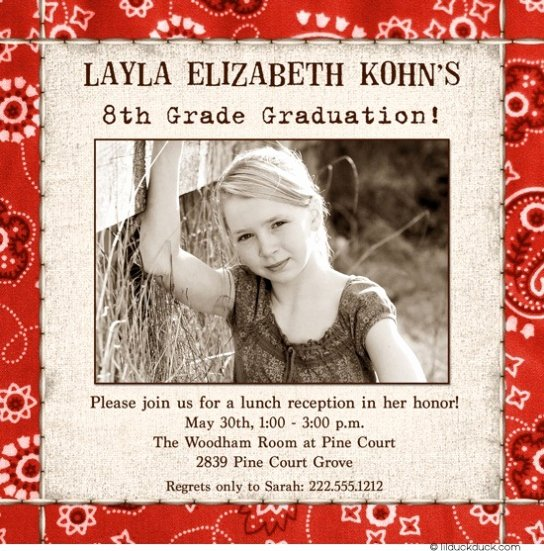 8th Grade Graduation Program Template Unique 8th Grade Graduation Invitations 8th Grade Graduation