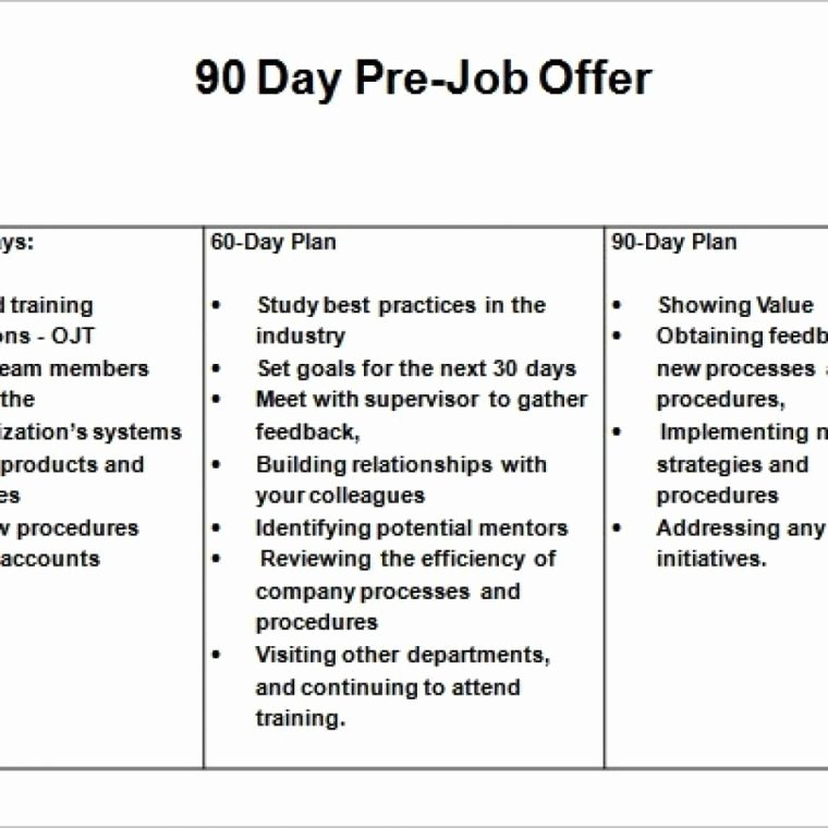 90 Day Action Plan Template Beautiful 30 60 90 Day Action Plan 30 60 90 Action Plan Retail 30
