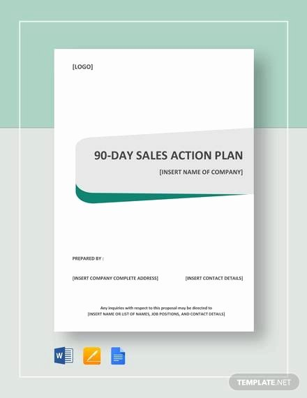 90 Day Action Plan Template Best Of 20 30 60 90 Day Plan Samples Pdf Word