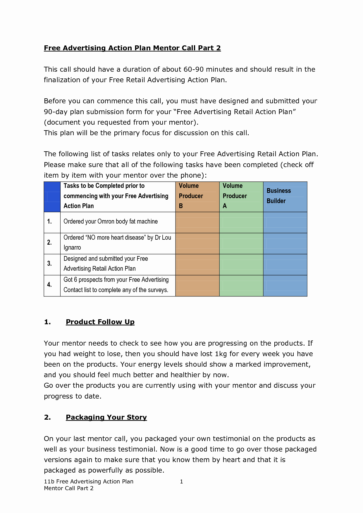 90 Day Action Plan Template Unique 30 60 90 Day Action Plan Template
