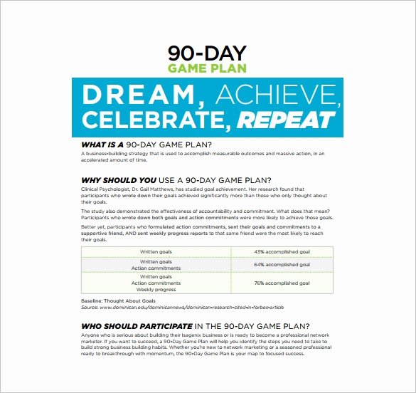 90 Day Business Plan Template Awesome 29 30 60 90 Day Plan Templates Pdf Doc