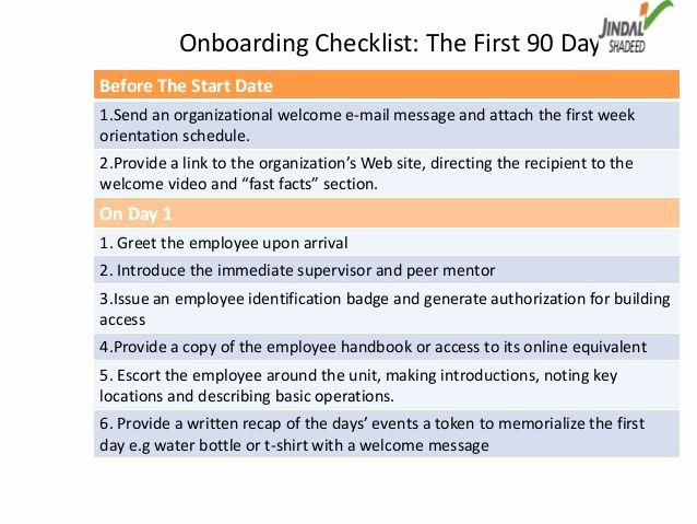 90 Day Onboarding Plan Template Luxury 17 Best Images About Hr Roadmap for Successful Boarding