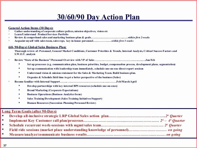 90 Day Sales Plan Template Awesome Image Result for 30 60 90 Day Marketing Plan