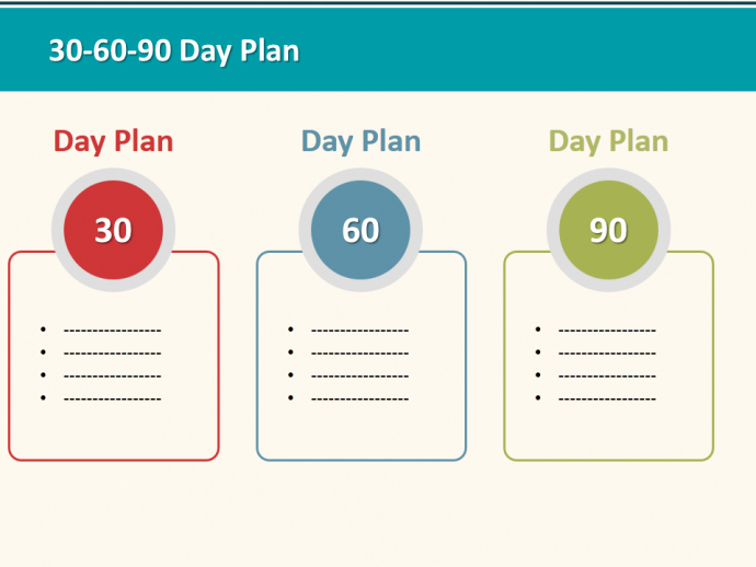 90 Day Sales Plan Template Elegant 30 60 90 Day Plan Designs that'll Help You Stay On Track