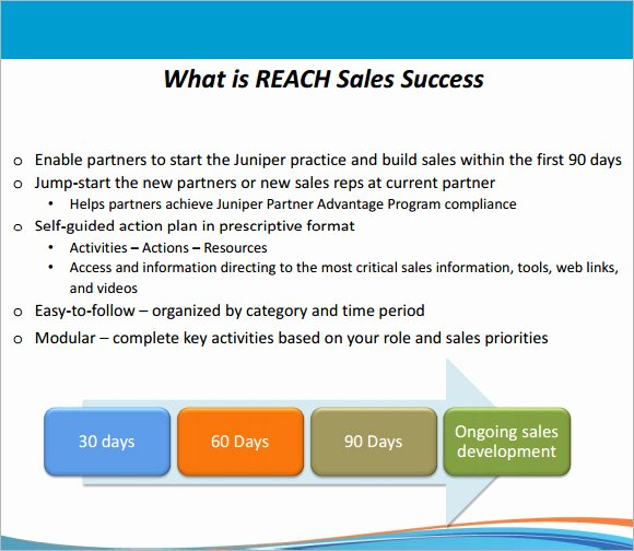 90 Day Sales Plan Template Elegant 30 60 90 Day Plan Template 7 Free Download for Pdf