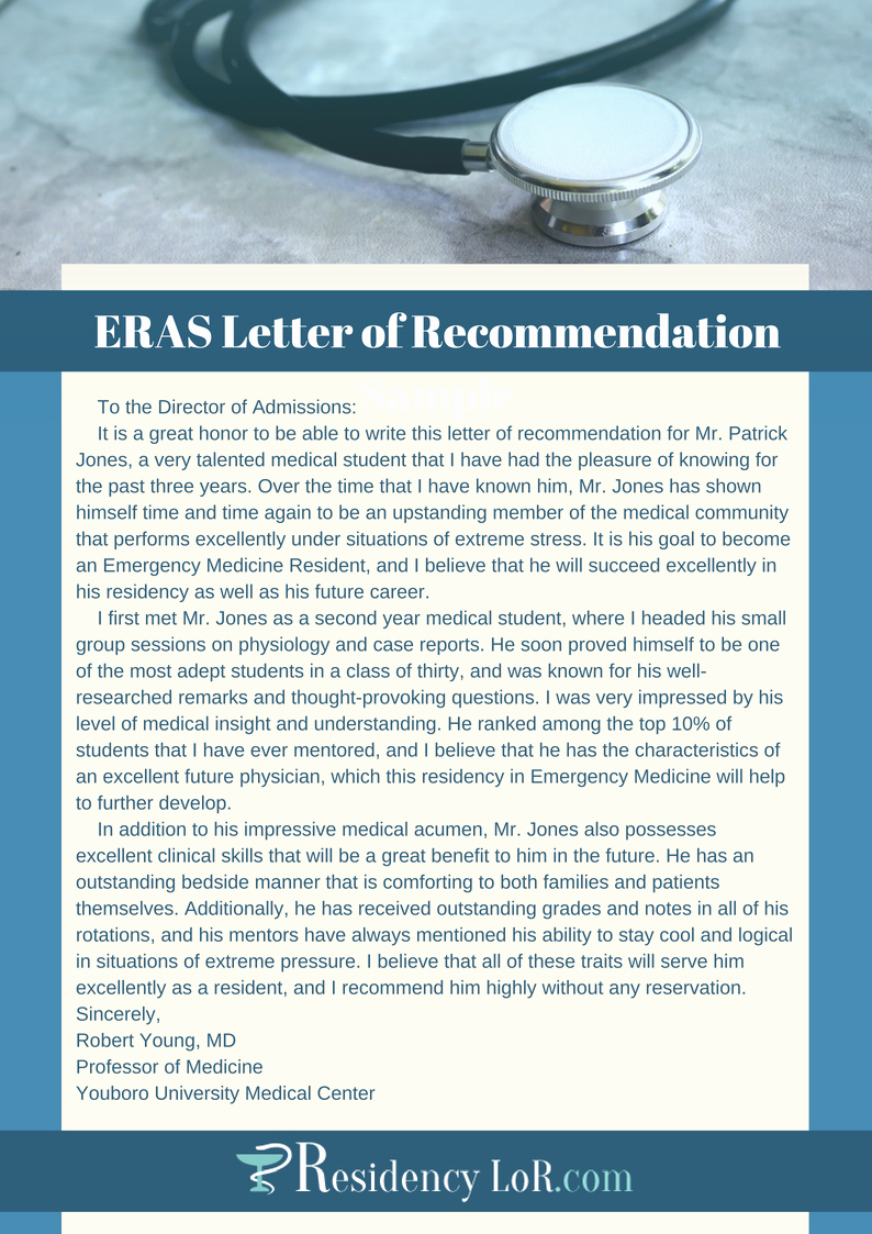 Aamc Recommendation Letter Guidelines Fresh Writing A Great Eras Letter Of Re Mendation