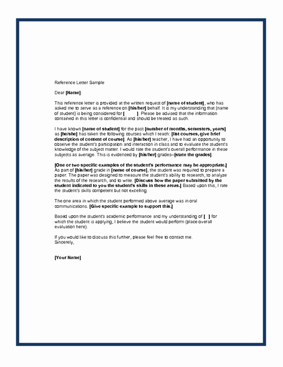 Aamc Recommendation Letter Guidelines Fresh Writing A Letter Of Re Mendation for A Student