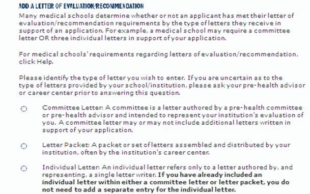 Aamc Recommendation Letter Guidelines New Amcas Letter Writer