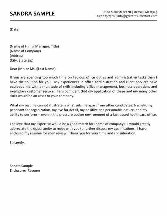 Academic Cover Letter format Inspirational Sample Academic Advisor Cover Letter