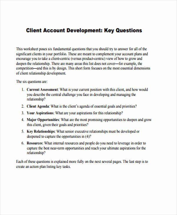 Account Management Plan Template Unique 42 Management Plan Templates Pdf Word