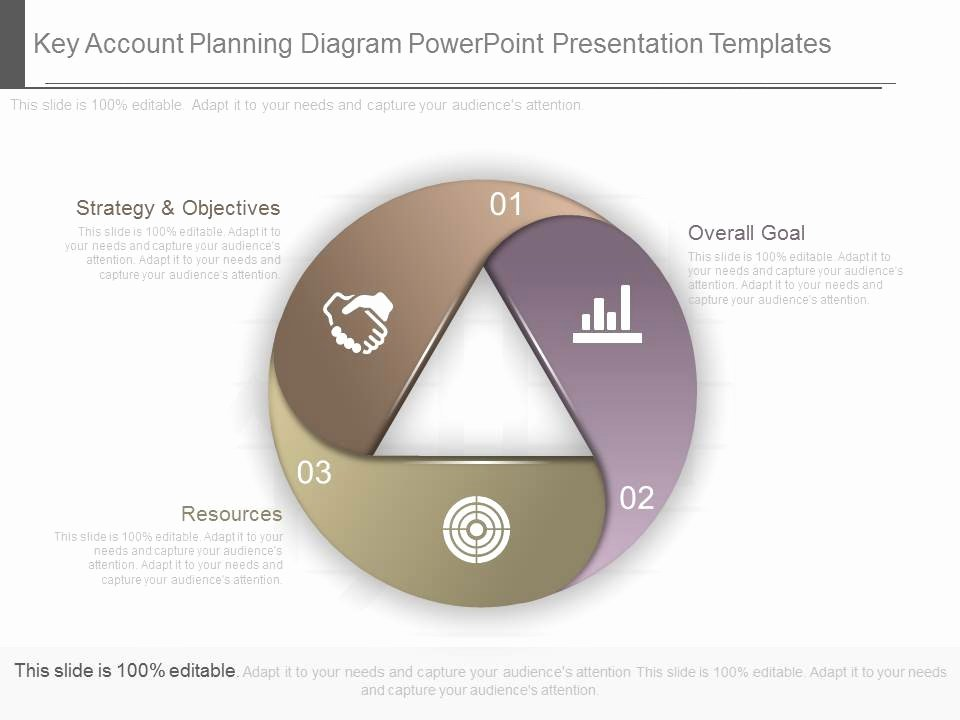 Account Plan Template Ppt Awesome original Key Account Planning Diagram Powerpoint