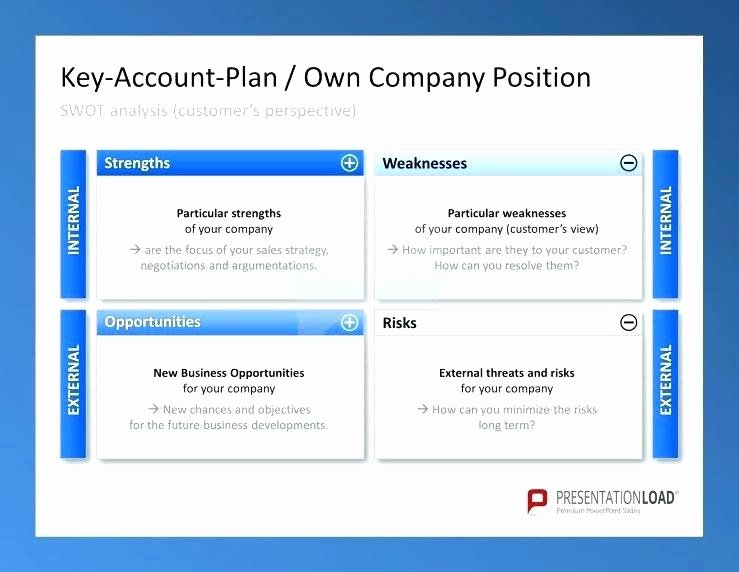 Account Plan Template Ppt Inspirational Key Account Plan Template Key Account Plan Template Excel